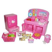 Hello Kitty Cocina Juego Set Miniatura Juguete Preescolar De