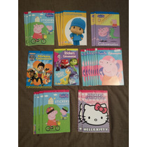 27 Libretas De Calcomanías Pepa Pig Hello Kitty Remate