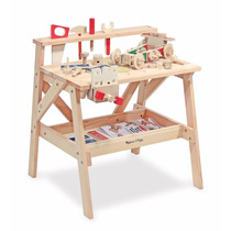 Estacion Taller De Trabajo Juego Juguete Para Niño+accesorio