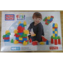 Mega Bloks Caja Grande De 100 Pzas First Builders Construir