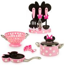 Minnie Mouse Set De Cocina Gourmet Disney