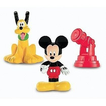 Juguete Figuras Mickey Mouse Fisher-price Amarillo