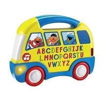 Juguete Fisher-price Autobús Elmo De Alfabeto Amarillo