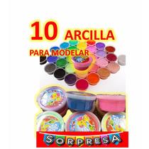 10 Arcillas , (precio Especial A Mayoristas) Fiesta,piñata
