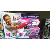 Nerf Rebelle Pink Crush Hasbro Nuevo Meses Sin Intereses