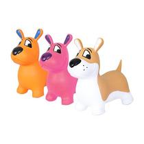 Montable Perrito Juguete Plastico Animalitos Infable