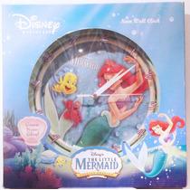 La Sirenita Ariel Reloj De Pared Disney Nuevo