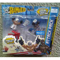 Wwe Wrestling Rumblers Ataque Exclusive Pack Rey Mysterio V