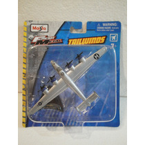 Maisto Fresh Metal Tailwinds Avion B-24 Liberatorn Gris