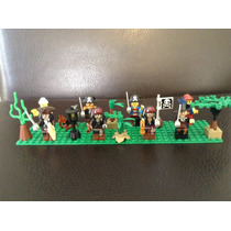 Set Piratas Del Caribe Con Base Compatible Con Lego