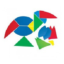 Tangram Oval Gigante Material Didactico