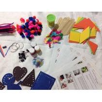 Cajas Con Material Y Actividades Para Niños, Manualidades