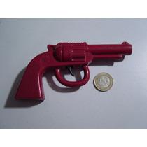 Juguete Antiguo De Plástico Pistolita Roja
