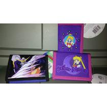 Bonita Cartera De Sailor Moon Y Gundam