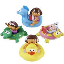 Munchkin Dora La Exploradora Baño Squirters