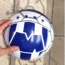 Pelota Plástico Futbol Oficial Rayados De Monterrey Tigres