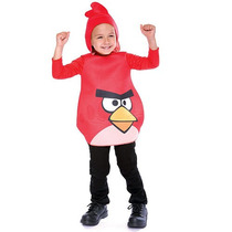 Angry Birds Red Bird Traje Niño