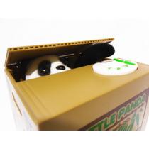 Alcancia Panda Robamonedas Caja Electronica Kawaii