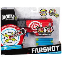 Boomco Farshot Mattel 3 Dardos 22m Escudo Removible Pistola