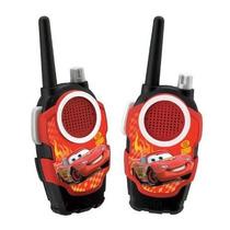 Juguetes Walkie Talkies Cars-2 Rojo