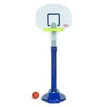 Little Tikes Ajuste Y Jam Pro Basketball Set Blue