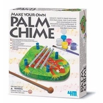 Juguete Cientifico 4m Make Your Own Palm Chime