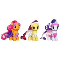 My Little Pony Boda De La Flor Potras Set Sweetie Belle De A