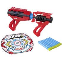 Pistola Boomco Slam Blast Mattel 8 Dardos 22m Dist Lanzador