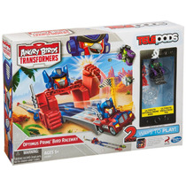Pista Carreras An Birds Transformers Telepods Blakhelmet Sp