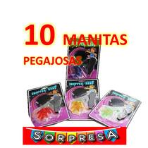 10 Manitas Pegajosas Juguete Piñata Regalo Sorpresa Fiesta