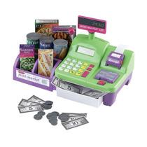 Mini Caja Registradora Niños Juguete Accesorios Compras Pm0