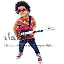 Guitarra Para Niños Con Lentes Para Los Roqueros