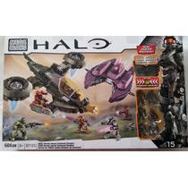 Mega Bloks Halo Unsc Hornet Vs Covenant Vampire Nuevo