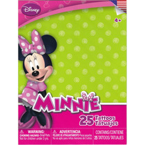Tatuajes Temporales Minnie De Mickey Mouse Disney Junior