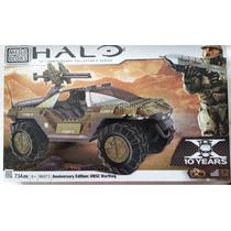 Mega Bloks Halo Warthog Anniversary Edition Nuevo