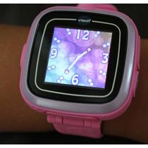 Reloj Smartwatch Rosa Kidizoom Vtech Voz Foto Video Juegos
