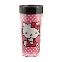 Vandor 18051 Hello Kitty 16 Oz De Plástico Taza Del Viaje De