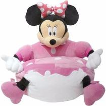 Sofa Silla Para Niña Figura Minnie Mouse