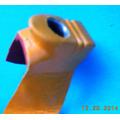 Botana Natural P/amarre Navaja Gallos Pelea En Aluminio/piel