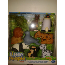 Little People Fisher Price Amigos Del Zoológico