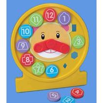 Reloj Juego - Enseñe Tiempo Puzzle 18 Meses Aprendizaje Del