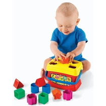 Cubo De Figuras Para Bebe Fisher Price 12pz 6meses Niño Niña