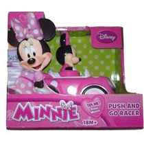 Disney Minnie Mouse Push And Go Car Racer