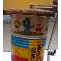Cilindro Musical De Hojalata Litografiado (fisher Price/62)