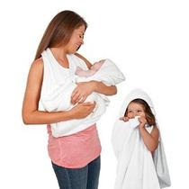 Clevamama Splash Y Abrigo Del Bebé Toalla De Baño (blanco)