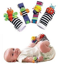 Makarine 4 X Bebé Infantil Suave Juguete Muñeca Sonajeros Ma