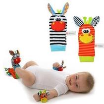 Bebé Infantil Suave Traqueteo De La Muñeca Y Pies Finders De