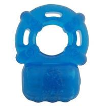 Anillo Con Vibrador Reutilizable Estrechable 100% Silicón