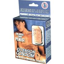 Extensón Para El Pene 100% Látex Quirúrjico Castigador 6cm +