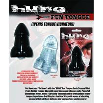 Vibrador En Forma De Pene Para La Lengua Hung Fun Tongue